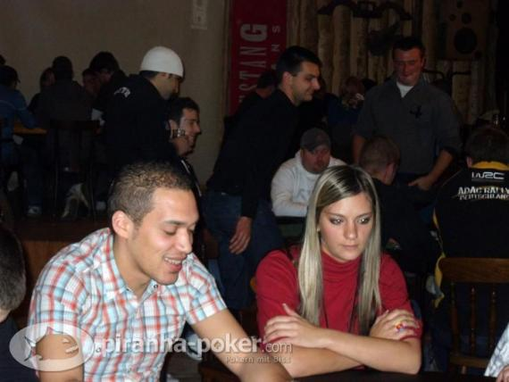 Piranha-Poker Turnier am Samstag, den 6.Dezember 2008 im Country & Westernsaloon Kupfermine