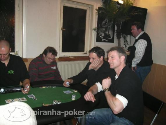 Piranha Poker Turnier am Samstag, den 25.Januar 2009 Zum goldenen Löwen