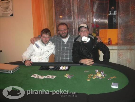 Piranha Poker Turnier am Freitag, den 20.März 2009 im Restaurant Tanne