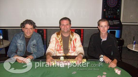 Piranha-Poker Turnier am Freitag, 18. September 2009 im Billard-Sport-Zentrum in Backnang