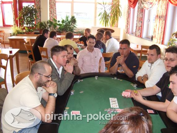 Piranha Poker-Turnier am Samstag, den 17. April 2010 im Sporthotel Öhringen