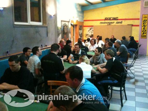 Piranha-Poker Multitableturnier am Samstag, den 29. Mai 2010 auf der Kartbahn Burgpark Ring