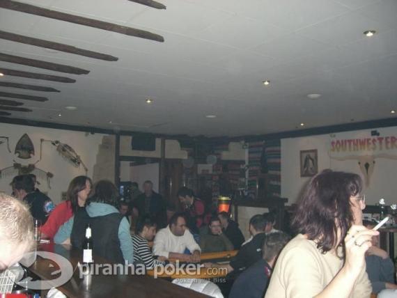 Piranha-Poker Turnier am Sonntag, den 16.März 2008 im South Western
