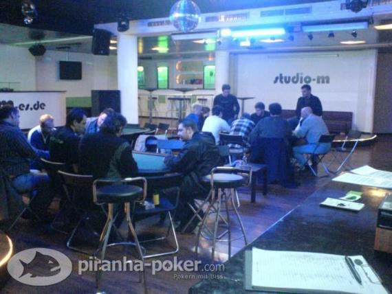Piranha Poker Turnier am Dienstag, den 25.März 2008 im Studio M